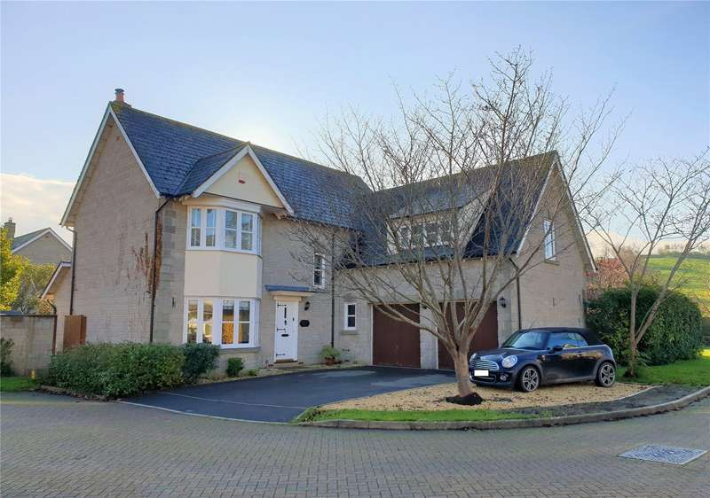 4 Bedrooms Detached House for sale in Pipers Close, Weare, Axbridge, Somerset, BS26
