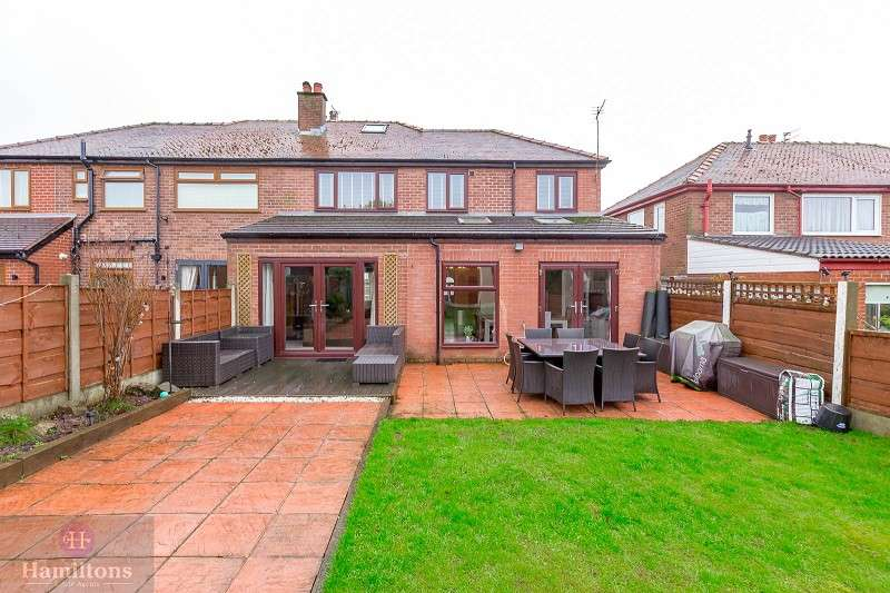 4 Bedrooms Semi Detached House for sale in Sydney Avenue, Leigh, Greater Manchester. WN7 3LT