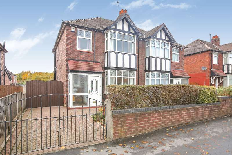 3 Bedrooms Semi Detached House for sale in Adswood Road, Stockport, Greater Manchester, SK3