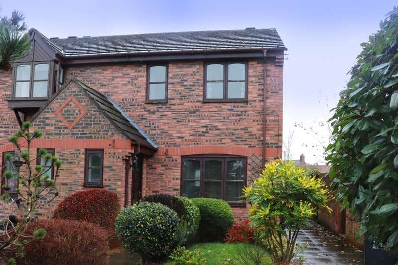 3 Bedrooms Semi Detached House for sale in Tricketts Mews, Nantwich, Cheshire, CW5