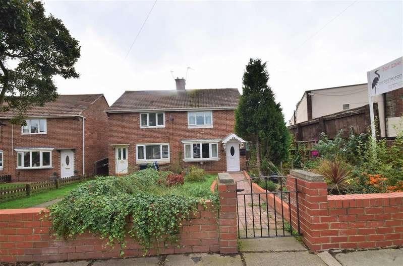 2 Bedrooms Semi Detached House for sale in Ashdown Road, Farringdon, Sunderland
