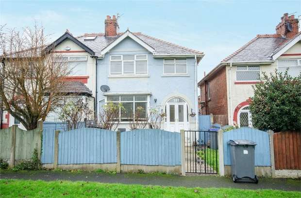 3 Bedrooms Semi Detached House for sale in Garstang Road West, Blackpool, Lancashire