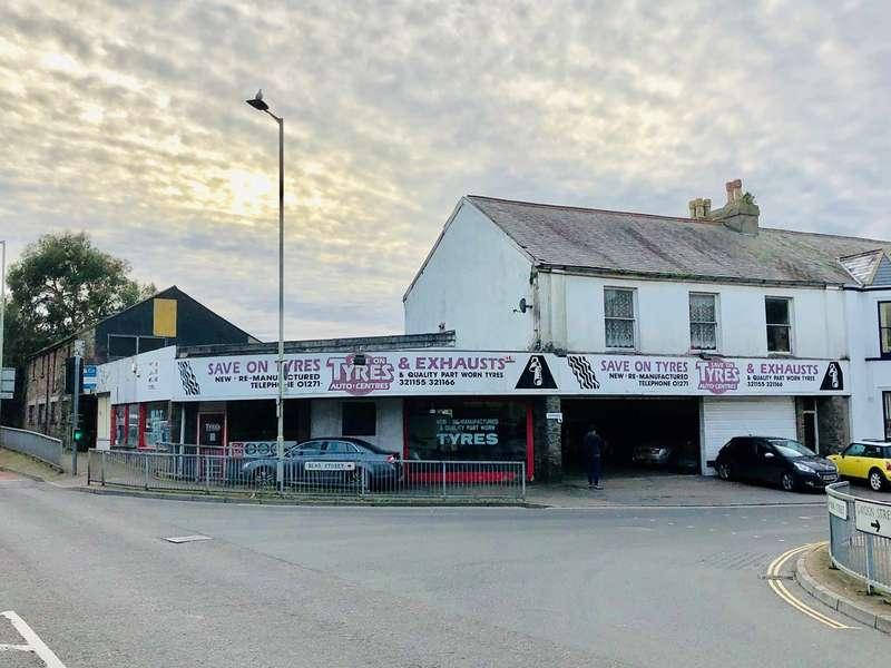 Garage Commercial for sale in Bear Street, Barnstaple, EX32
