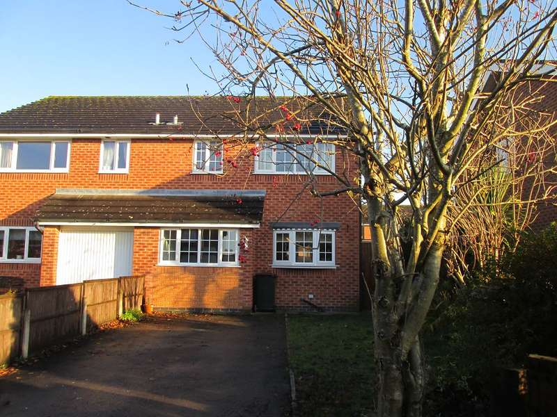 3 Bedrooms Semi Detached House for sale in College Fields, Wistaston, Crewe, CW2 8AW