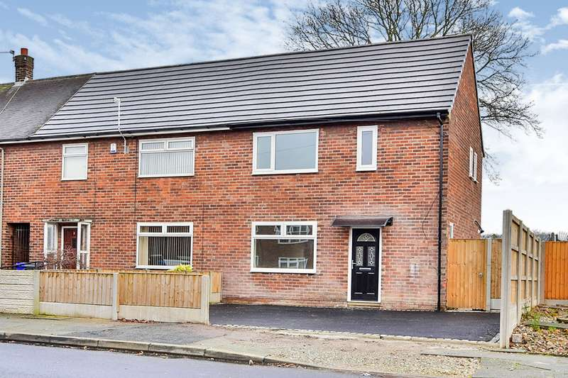 3 Bedrooms End Of Terrace House for sale in Greenham Road, Manchester, Greater Manchester, M23