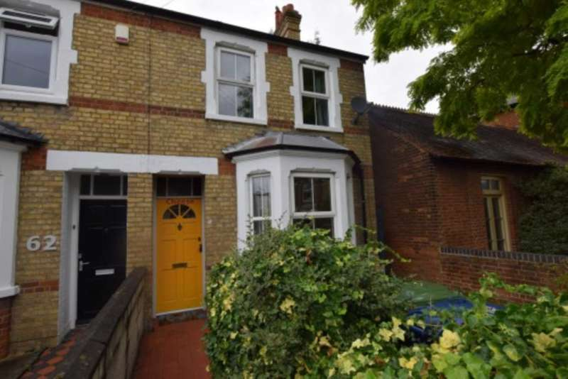 4 Bedrooms Semi Detached House for sale in Percy Street, East Oxford.