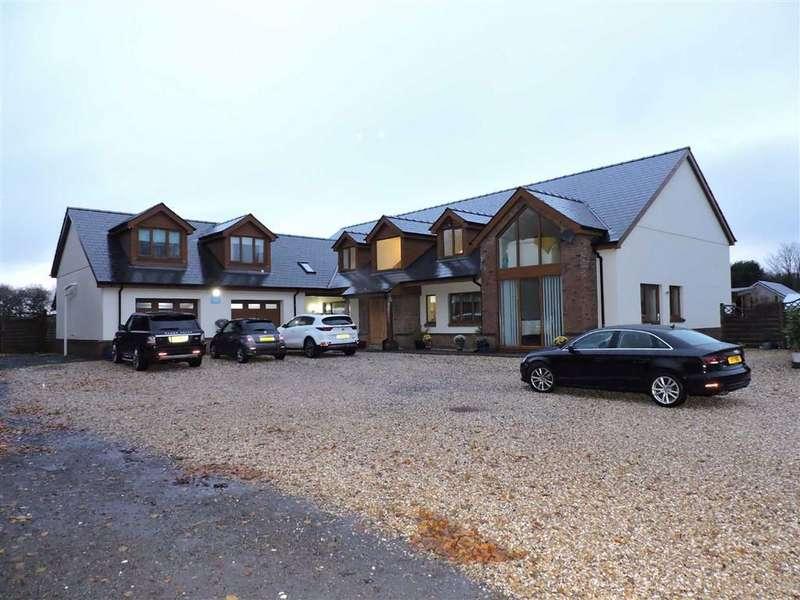 7 Bedrooms Detached Bungalow for sale in Black Lion Road, Gorslas