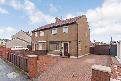 3 Bedrooms Semi Detached House for sale in East Park Road, Ayr