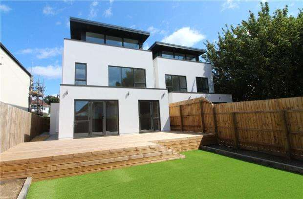 4 Bedrooms Detached House for sale in Lilliput, Poole, Dorset, BH14