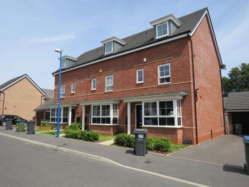 4 Bedrooms End Of Terrace House for sale in Richard Bradley Way, Tipton, West Midlands, DY4