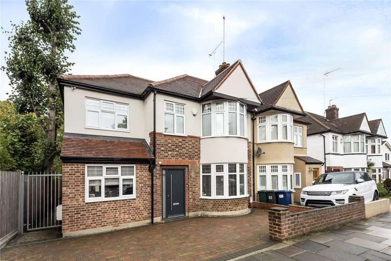 4 Bedrooms Semi Detached House for sale in Goldsmith Road, Friern Barnet, N11