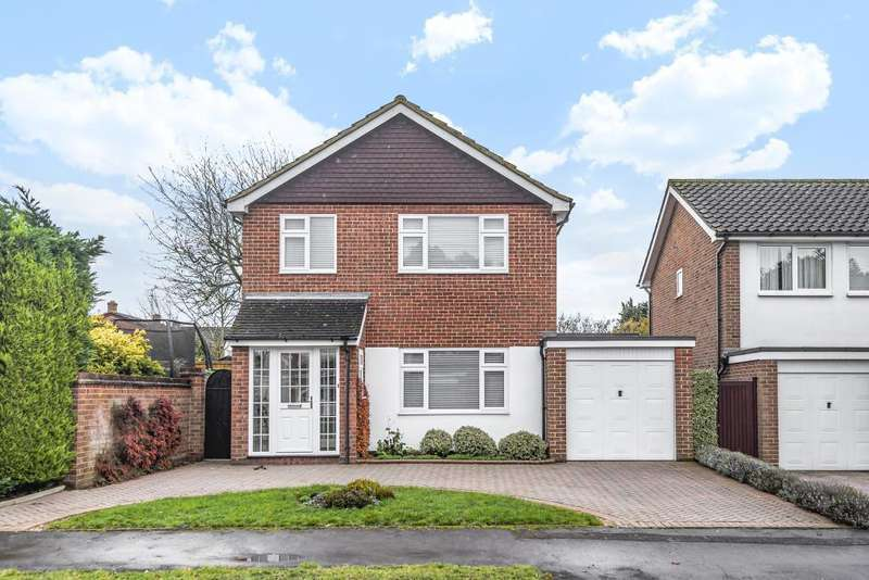 3 Bedrooms Detached House for sale in Winchcombe Rd, Twyford, RG10