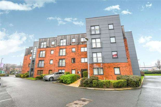 2 Bedrooms Apartment Flat for sale in Dutton Court, Warrington, Cheshire