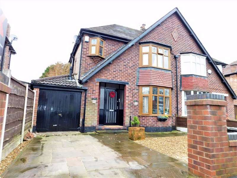 3 Bedrooms Semi Detached House for sale in Boundary Road, Cheadle, Stockport