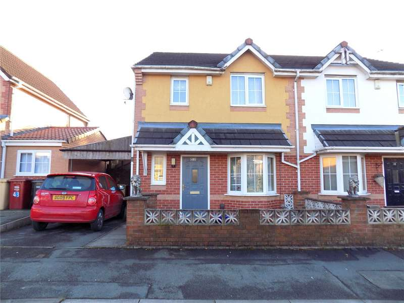 3 Bedrooms Semi Detached House for sale in Elterwater Road, Farnworth, Bolton, Greater Manchester, BL4