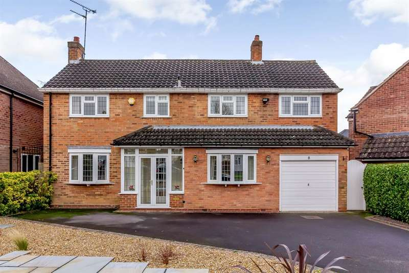 4 Bedrooms Detached House for sale in Holland Avenue, Knowle, Solihull, B93 9DW