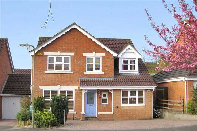 5 Bedrooms Detached House for sale in Burnhams Close, Andover