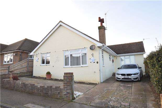 3 Bedrooms Detached Bungalow for sale in Chichester Close, BEXHILL-ON-SEA, East Sussex, TN39 4DH