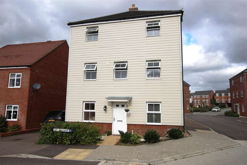 5 Bedrooms Detached House for sale in Fieldstone, Houghton Regis