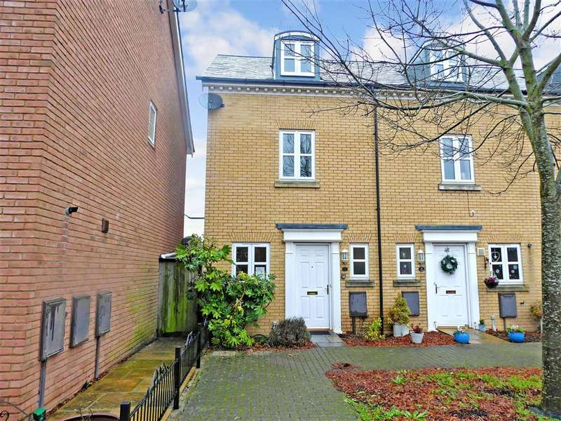 3 Bedrooms End Of Terrace House for sale in Gilbert Way, , Canterbury, Kent