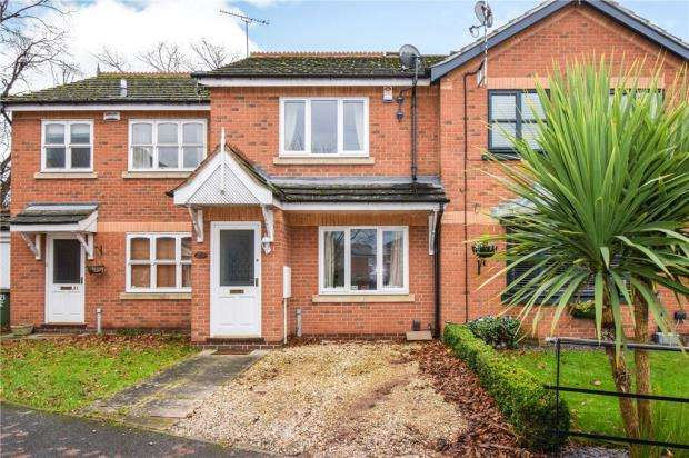 2 Bedrooms Terraced House for sale in Perry Grove, Loughborough, Leicestershire