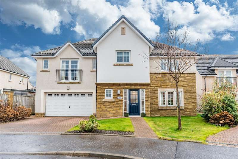 5 Bedrooms Detached House for sale in Young Crescent, Larbert