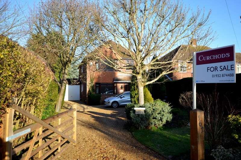 4 Bedrooms Detached House for sale in Almners Road, Lyne, KT16