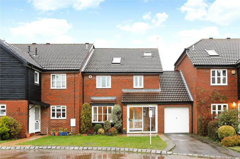 4 Bedrooms Terraced House for sale in The Murreys, Ashtead, Surrey, KT21