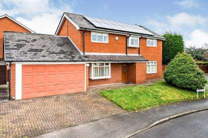 4 Bedrooms Detached House for sale in Sanderling Close, Westhoughton, Bolton, Greater Manchester, BL5