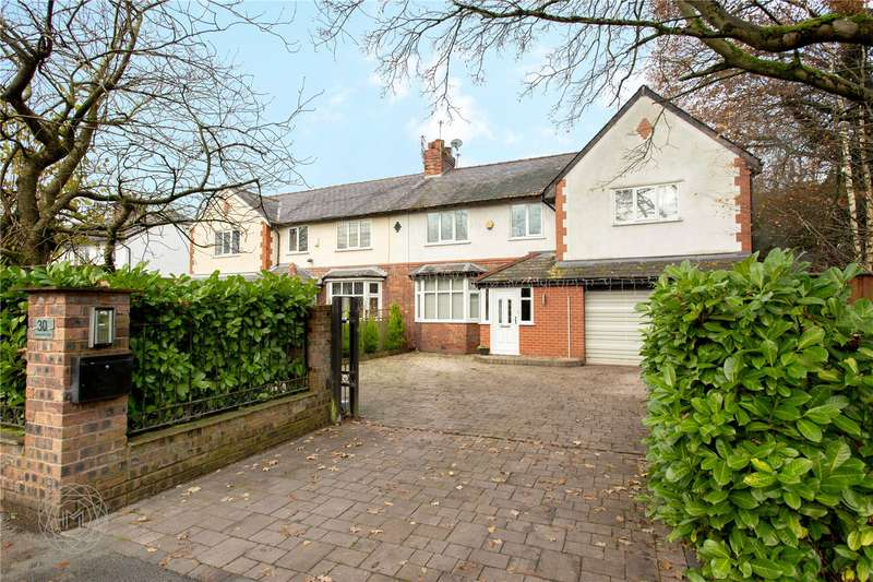 5 Bedrooms Semi Detached House for sale in Greenleach Lane, Worsley, Manchester, Greater Manchester, M28