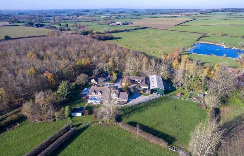 5 Bedrooms Detached House for sale in Winterborne Zelston, Blandford Forum, Dorset, DT11