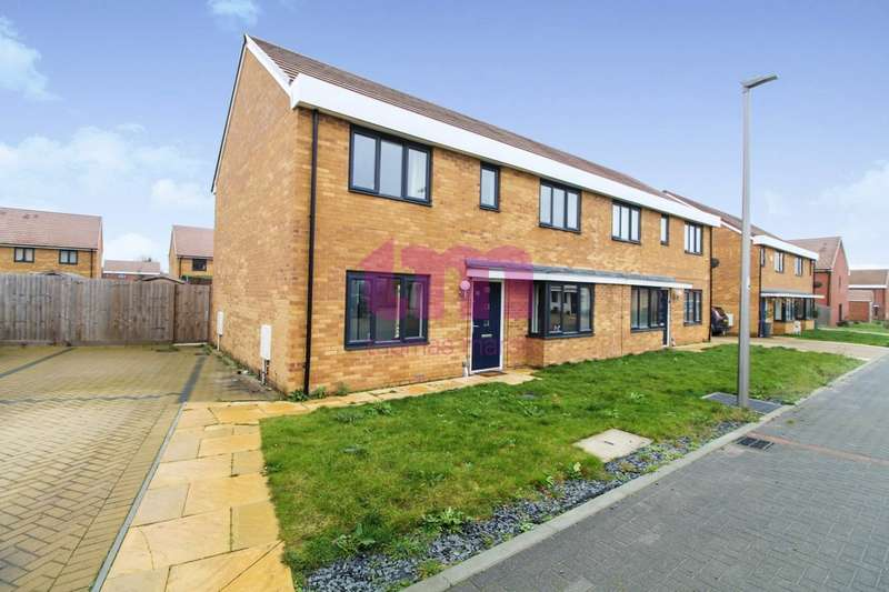 4 Bedrooms Semi Detached House for sale in Turnstone Close, East Tilbury