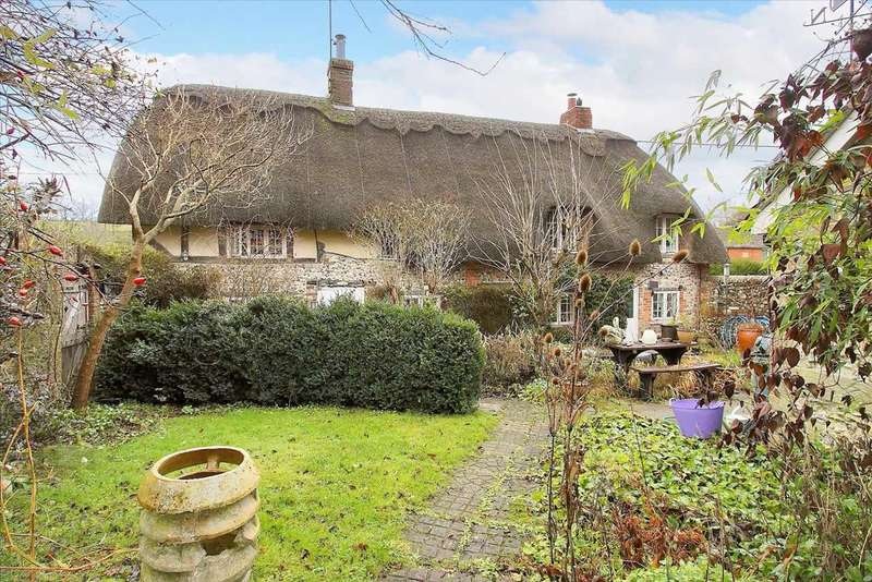 3 Bedrooms Detached House for sale in Boundary Cottage, Ibthorpe, Andover