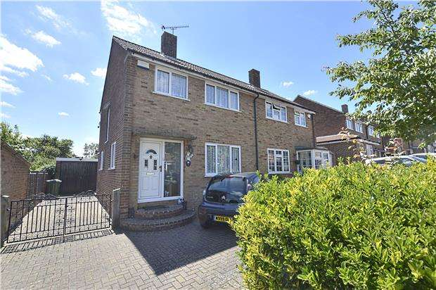 3 Bedrooms Semi Detached House for sale in Knighton Road, Otford, SEVENOAKS, Kent, TN14 5LD