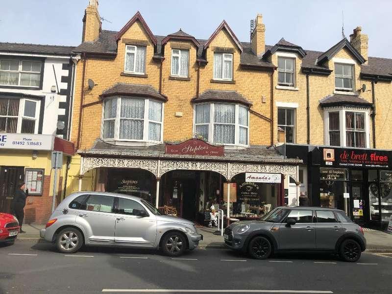 Shop Commercial for sale in Abergele Road, Colwyn Bay, Conwy, LL29 7RU