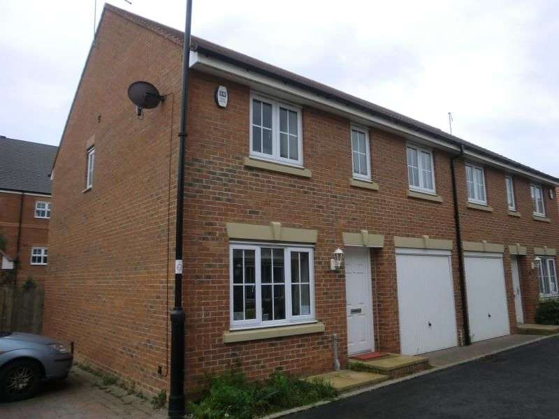 4 Bedrooms Semi Detached House for rent in Chipchase Mews, Great Park, Newcastle Upon Tyne, NE3