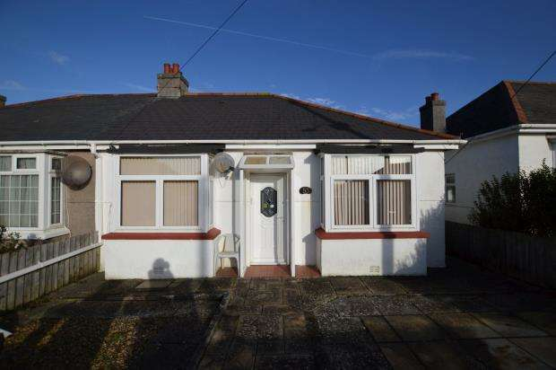 2 Bedrooms Semi Detached Bungalow for sale in Howard Road, Plymouth, Devon
