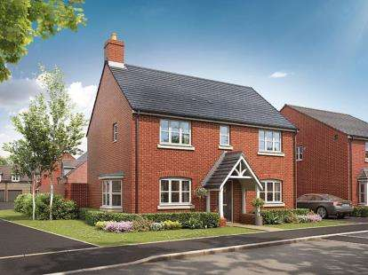 4 Bedrooms Detached House for sale in Broughton Chase, Crowfoot Way, Broughton Astley, Leicester