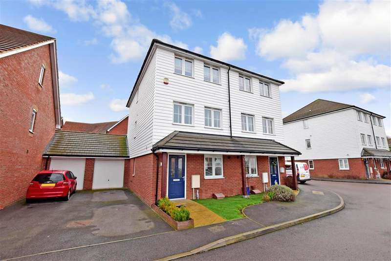 4 Bedrooms Semi Detached House for sale in Viscount Square, , Herne Bay, Kent