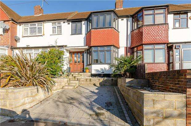 3 Bedrooms Terraced House for sale in Dunster Avenue, MORDEN, Surrey, SM4 4LE