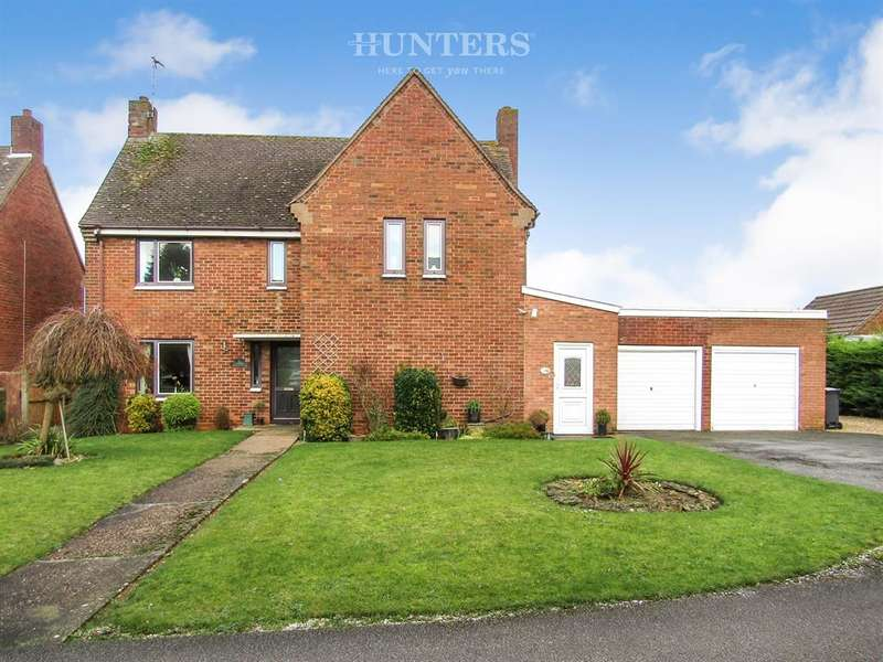 4 Bedrooms Detached House for sale in Canberra Crescent, Hemswell, Gainsborough, DN21 5TZ