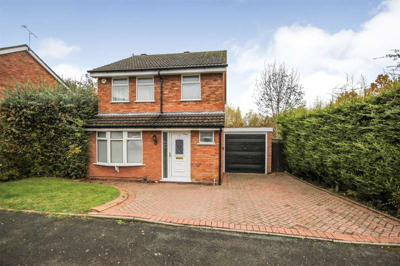 3 Bedrooms Detached House for sale in Conifer Close, Brierley Hill, West Midlands, DY5