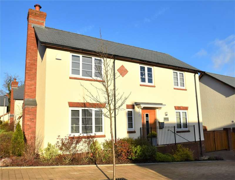 4 Bedrooms Detached House for sale in Aubyns Wood Rise, Tiverton, Devon, EX16