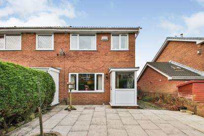 3 Bedrooms Semi Detached House for sale in Harrow Close, Padiham, Burnley, Lancashire
