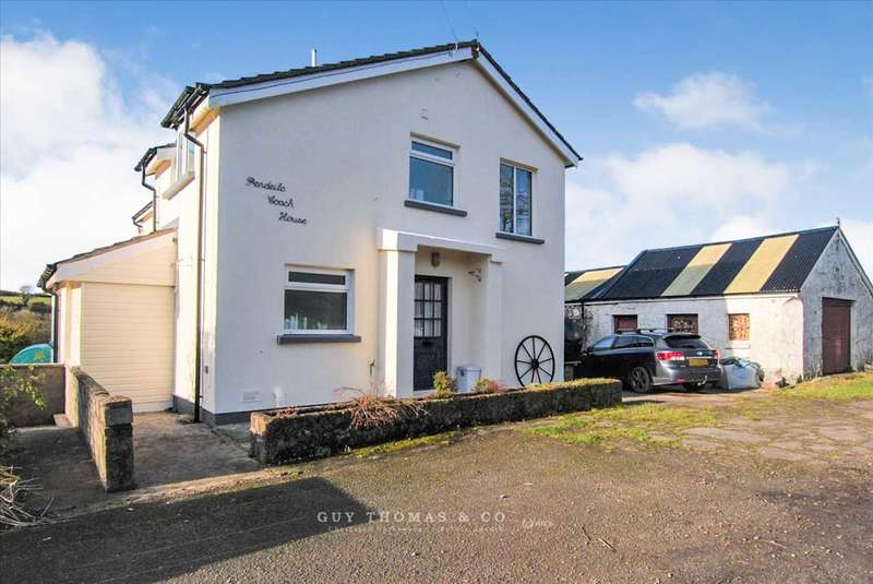 4 Bedrooms Detached House for sale in Pendeilo Coach House, Amroth