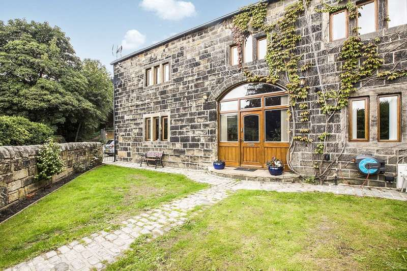 4 Bedrooms Semi Detached House for sale in Red Acre, Mytholmroyd, Hebden Bridge, West Yorkshire, HX7