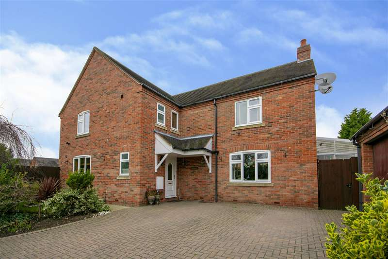 4 Bedrooms Detached House for sale in Barrons Court, Elvaston, Thulston