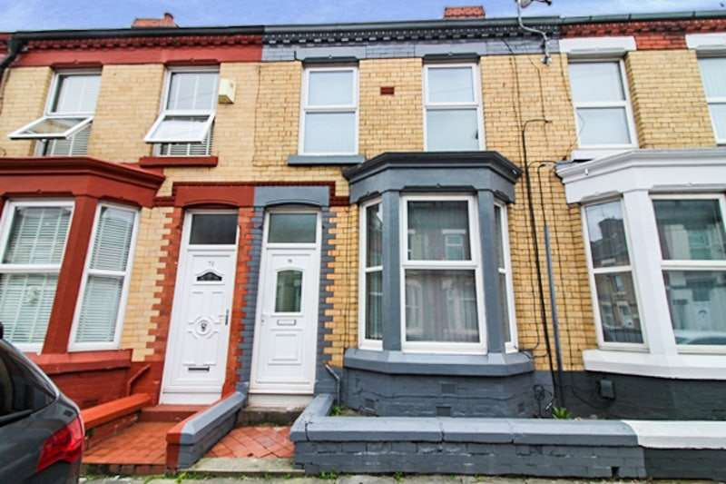 4 Bedrooms Terraced House for sale in Gilroy Road, Liverpool, Merseyside, L6