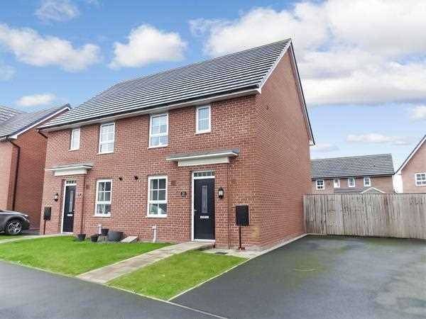 3 Bedrooms Semi Detached House for sale in Townsend Drive, Buckshaw Village