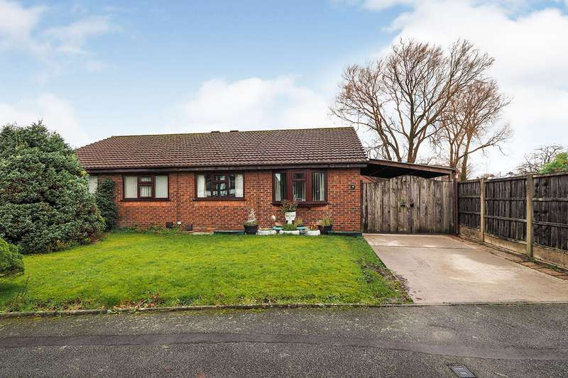 2 Bedrooms Semi Detached Bungalow for sale in Stainton Road, Radcliffe, Manchester, M26